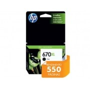 Cartucho de Tinta INK Advantage HP Suprimentos CZ117AB HP 670XL Preto 14,0 ML