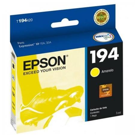Cartucho EPSON Amarelo 5ML - T194420-BR