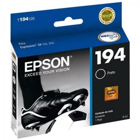 Cartucho EPSON Preto 4ML - T194120-BR
