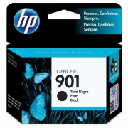 Cartucho HP 901 Officejet Jato de Tinta Preto 4,5ML - CC653AB
