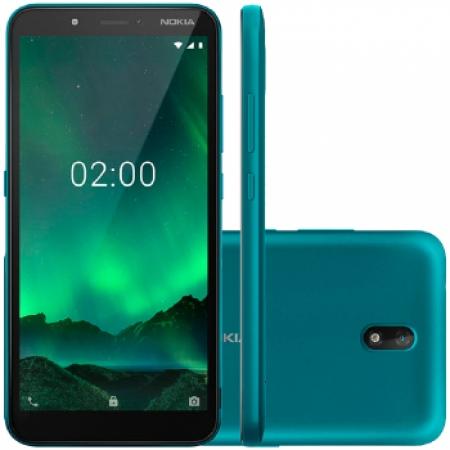 Celular Nokia C-2 Dual - NK011 Verde Quadriband