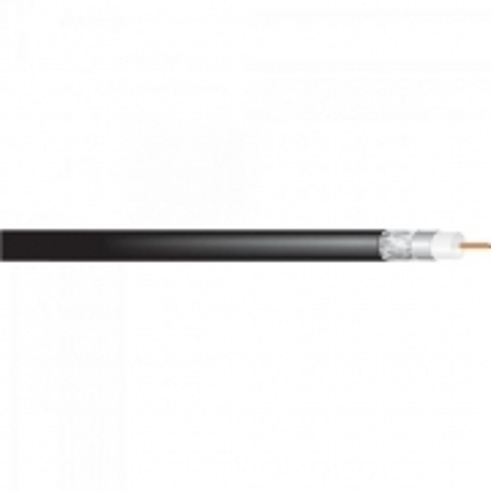 Coaxial RGE 58 75% Preto Rolo 100M Cabletech