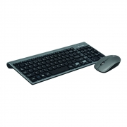 Combo Wireless C3TECH Teclado & Mouse 2.4 GHZ Business K-W510SBK