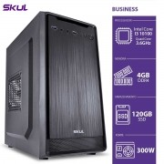Computador Business B300 - I3 10100 3.6GHZ Core 4GB DDR4 SSD 120GB HDMI/VGA Fonte 300W
