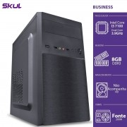 Computador Business B300 - I3-7100 3.9GHZ 8GB DDR3 sem HD HDMI/VGA Fonte 200W