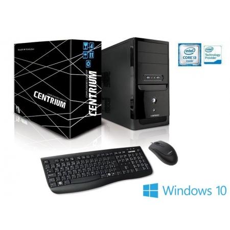 Computador Desktop Windows Computador Fasttop 7100 INTEL Core I3-7100 3.9GHZ 4GB DDR4 240GB Windows 10 PRO