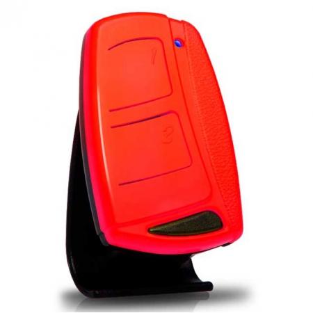 Controle Remoto IPEC TX TOP FLIP 433 MHZ Vermelho