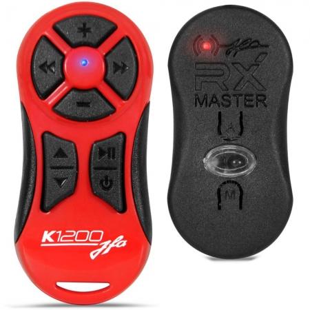 Controle Remoto JFA K1200 Vermelho Alcance de 1200 Metros com Receptor