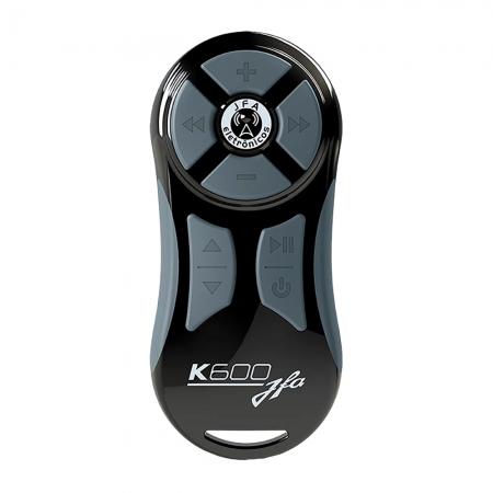 Controle Remoto JFA K600 PRETO/CINZA 600M