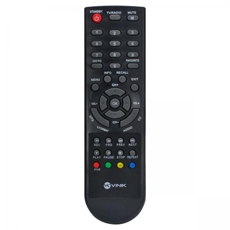 Controle Remoto para Conversor Digital Aquario DTV-8000
