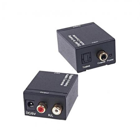 Conversor Audio Optico para Audio Analogico Estereo
