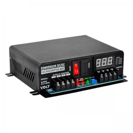 Conversor DC/DC Microcontrolado Isolado 24V/48V/5A 4.30.022