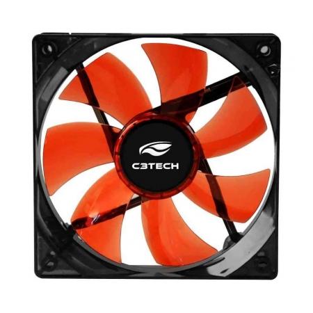 Cooler C3 TECH STORM FAN 12CM LED (F7-L100RD)
