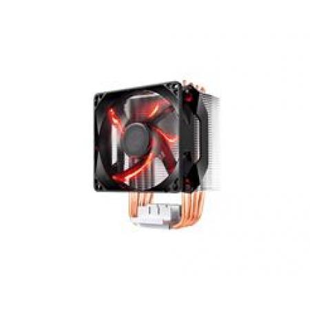 Cooler Coolermaster para Processador - HYPER H410R LED Vermelho