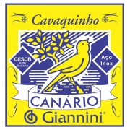 Corda para Cavaco Giannini GESCB Serie Canario Bolinha