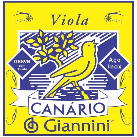 Corda para Viola Giannini GESVB Serie Canario Bolinha ACO Media