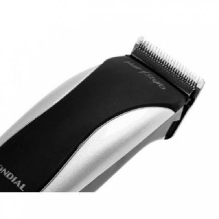 Cortador de Cabelo Mondial Hair STYLO - CR-02 Prata 110 VOLTS