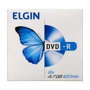 Elgin Midia DVD-R 4,7GB / 120 MIN / 8X Envelope