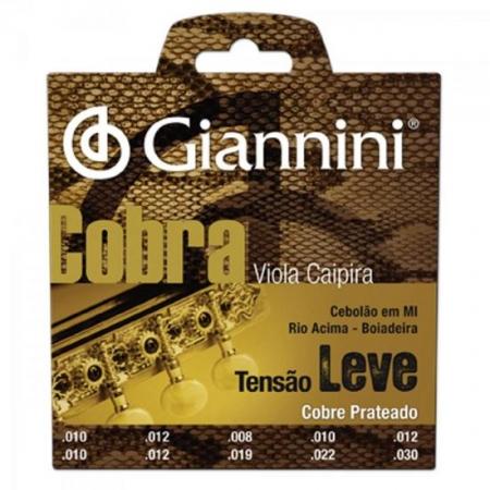 Encordoamento para Viola GESVL Serie Cobra ACO Leve Giannini
