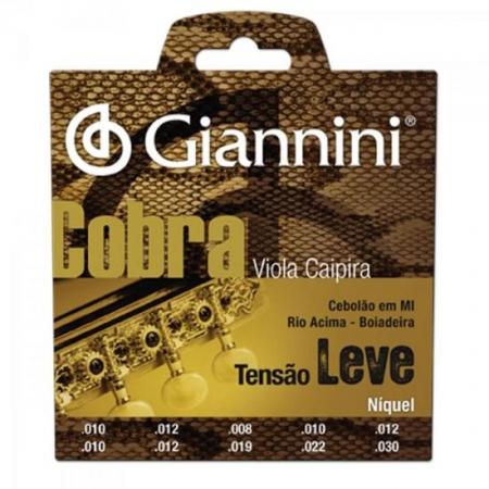 Encordoamento para Viola GESVNL Serie Cobra ACO Leve Giannini