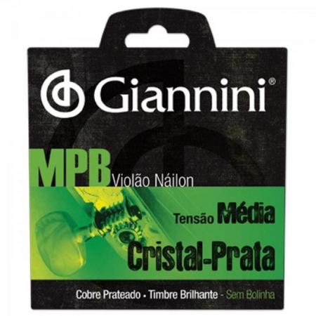 Encordoamento para Violao GENWS Serie MPB NYLON Medio Giannini