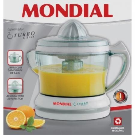 Espremedor Frutas Turbo Citrus - 0190 02 Branco 220 VOLTS