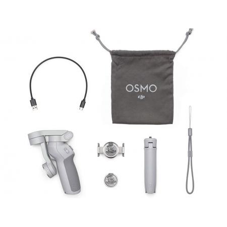 Estabilizador de Imagem OM4 Estabilizador CP.OS.00000108.01 OSMO 4 Mobile Combo Magnetico