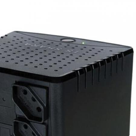 Estabilizador TS Shara Powerest 2500VA Mono 115V 6 - 9012PRETO110 VOLTS