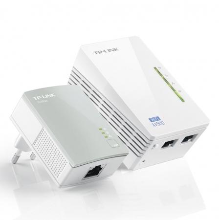 Extensor de Alcance TP-LINK TL-WPA4220KIT Powerline 300/ 500MBPS