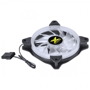 FAN/COOLER VX Gaming para Gabinete V.RING ANEL de LED 120X120MM Branco