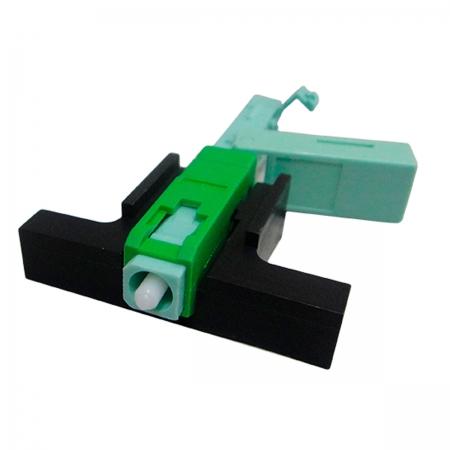 Fast Connector SC/APC com CLIP e Trava Interna 3D-L01001 Embalagem C/100