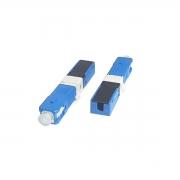 Fast Connector SC/UPC com CLIP e Trava AZUL