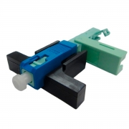 Fast Connector SC/UPC com CLIP e Trava Interna 3D-L01002 Embalagem C/100