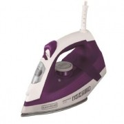 Ferro BLACK & Decker FX2500 Vapor Ceramic GLISS - FX2500-B2 BRANCO/ROXO 220 VOLTS