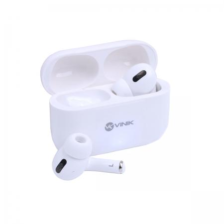 Fone de Ouvido Bluetooth PODS W1 TWS - Branco