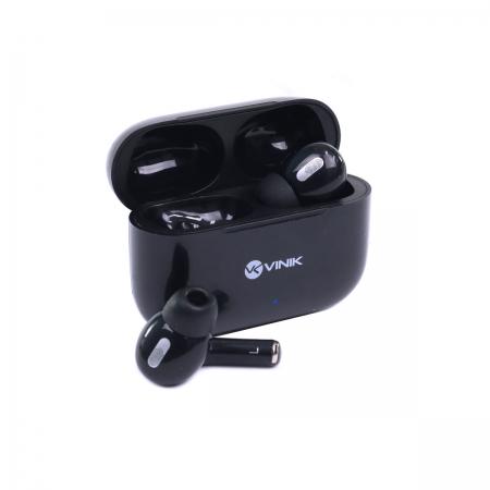 Fone de Ouvido Bluetooth PODS W1 TWS - Preto