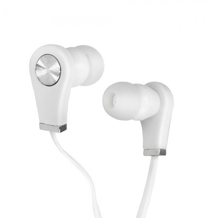 Fone de Ouvido EVUS F-06 INTRA Auricular 3,5MM 1,2M Branco