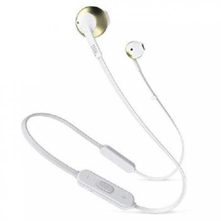 Fone de Ouvido IN EAR JBL TUNE205 Bluetooth - 28910923 Champagne