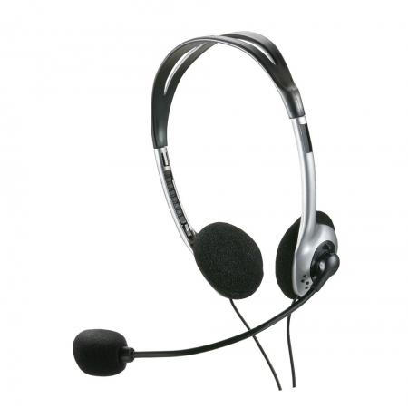 Fone de Ouvido Multilaser PH002 com Microfone Headset Estereo com Fio P2 Preto