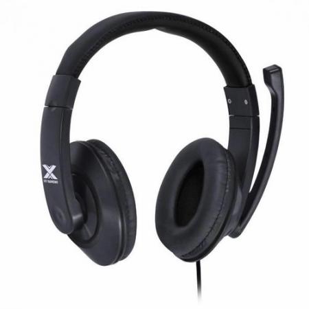 Fone Headset Gamer VX Gaming V Blade II P2 Estereo com Microfone Retratil e Ajuste de Haste - Preto