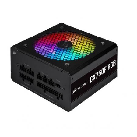 Fonte ATX 750W - CX750F FULL MODULAR-RGB BLACK-80 PLUS BRONZE-COM Cabo de FORCA-CP-9020218-BR