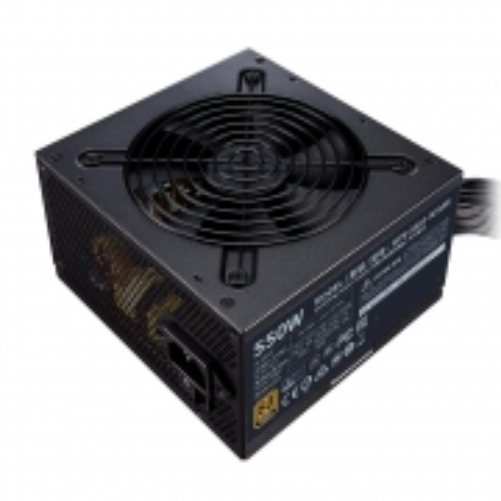 Fonte Cooler Master 550W 80 PLUS Bronze MWE V2 - MPE-5501-ACAAB-WO