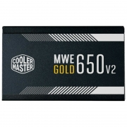 Fonte Cooler Master 650W 80 PLUS GOLD MWE GOLD V2 - MPE-6501-ACAAG-WO