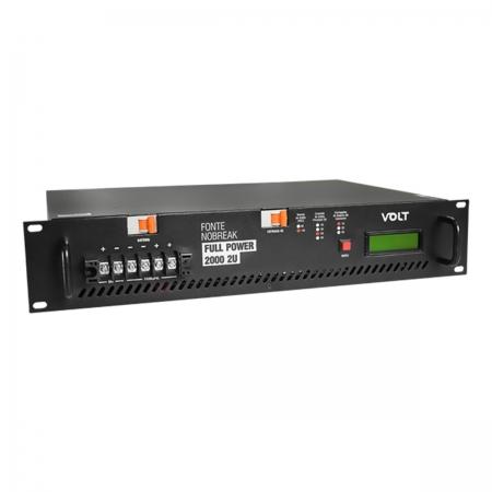 Fonte Nobreak FULL Power 2000W -48V-30S+10C 2U 127/220V 3.18.040