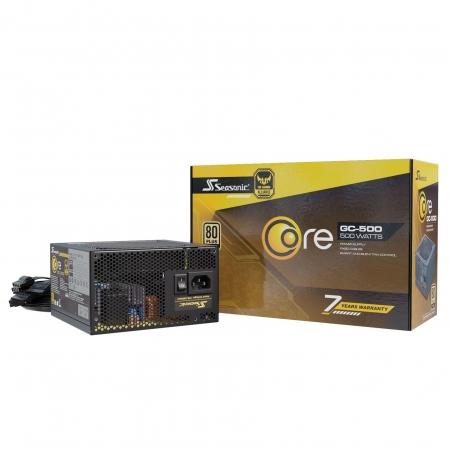 Fonte Seasonic Core GC-500 GOLD 500W Nao Modular
