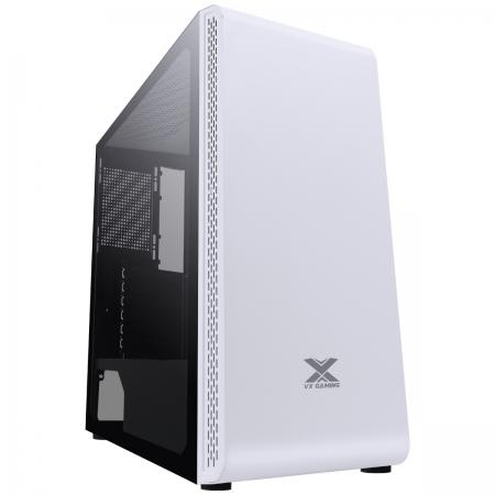 Gabinete Gamer VX Gaming Vaux com Janela em Vidro Temperado - Branco