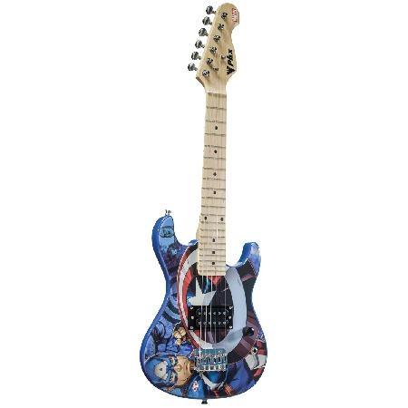 Guitarra KIDS Marvel Capitao America GMC-K2