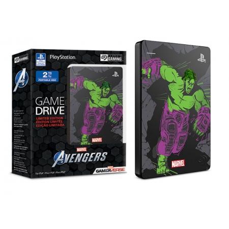 HDD Externo USB Portatil HDD Externo 2HJAA7-570 STGD2000105 PS4 Avengers HULK 2TERA USB 3.0