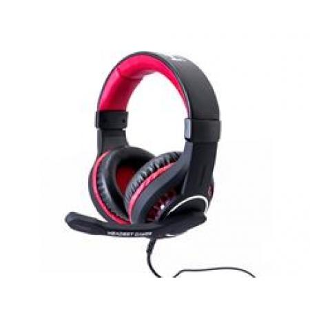 Headphone Hayom Gamer P2 USB PRETO/VERMELHO - HF2205