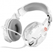 Headset Gamer TRUST GXT 322W Carus SNOW Camo 20864